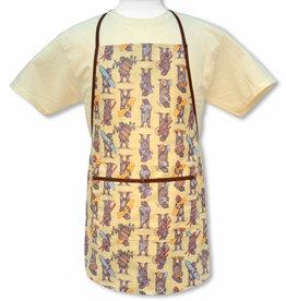 CA Bears Apron, laminated fabric