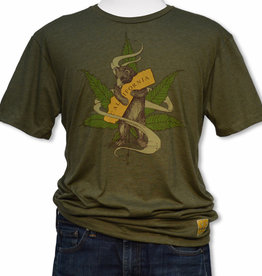 Cannabis CA Bear Hug Tee Shirt