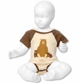 Forest Friends Bear Family Onesie