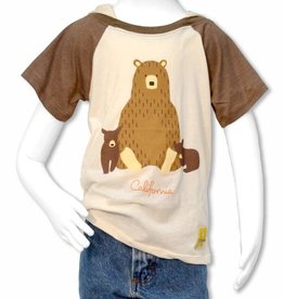 Forest Friends Bear Family Kids Tee