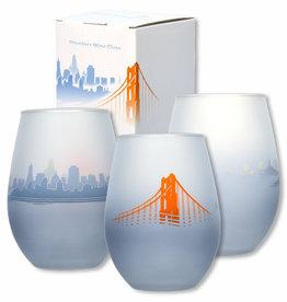 SF Fog Stemless Wine Glass