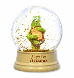 AZ Saguaro Hug Mini Water Globe