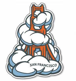 SF Fog Vinyl Sticker