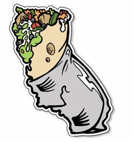Cal-Burrito Vinyl Sticker