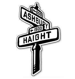 Haight Ashbury Vinyl Sticker