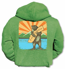 Kids CA Mountain Bear Zip Hoodie