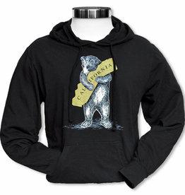 CA Bear Hug Black Metallic  Hoodie