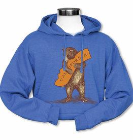 CA Bear Hug Hoodie, Blue