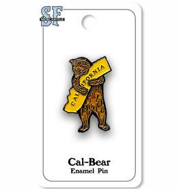 CA Bear Hug Enamel Pin
