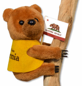CA Bear Plush Clip