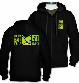 50% Off was $58.00 GGP150 Unisex Fleece Hoodie, Black
