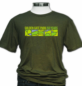 50% Off was $26.00 GGP150 Unisex Tee, Heather Olive