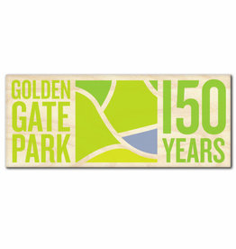 "GGP150 Wood Sticker 4"" x 1.6"""