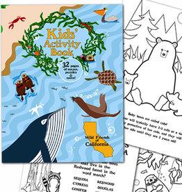 Kid's Activity Book, Wild Friends of California