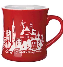 SF Etched Diner Mug