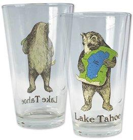 Lake Tahoe Bear Pint Glass
