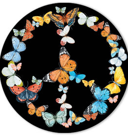 SF Mercantile Butterfly Peace Sticker