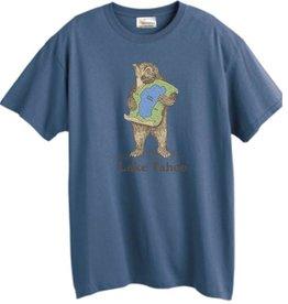 Lake Tahoe Denim Blue Bear Hug Tee
