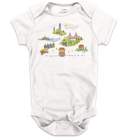 SF Mercantile Halfway to the Stars Onesie