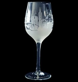 Clear Frost Skyline Wine Glass-45% off was $18.