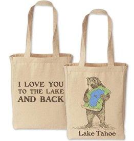 Lake Tahoe Bear Tote
