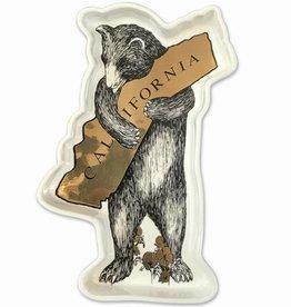 CA Bear Hug Metallic Trinket Tray