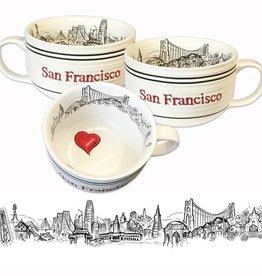 Heart in SF Soup Mug