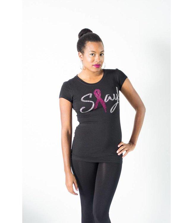 Slay Breast Cancer Awareness Tee