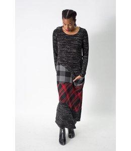 Alembika Mixed Print Dress