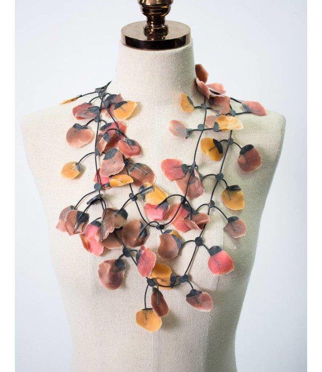 Annemieke Broenink Poppy Rubber Necklace