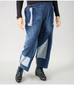 KEKOO Patchwork Pants