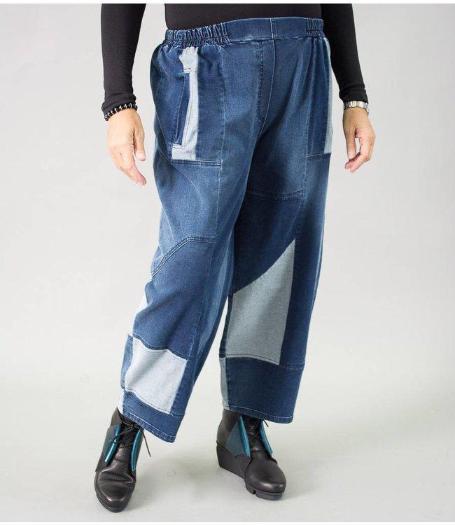 KEKOO Patchwork Pants