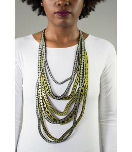 Uli Rapp Pearls & Chains Necklace