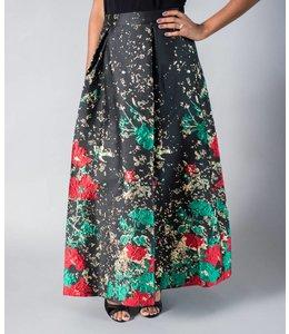 Samuel Dong Holiday Skirt
