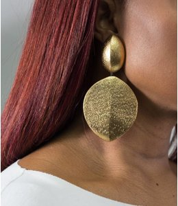 Monies Acasia Gold Earring
