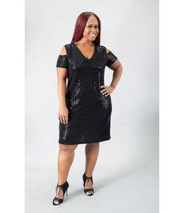 Clara S. Shimmer Dress