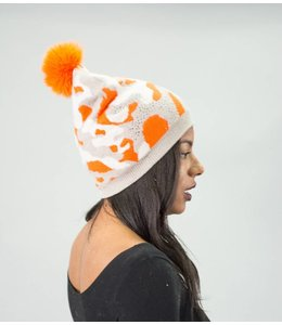 Mitchie's Matchings Camo Hat w/ Fox Pom