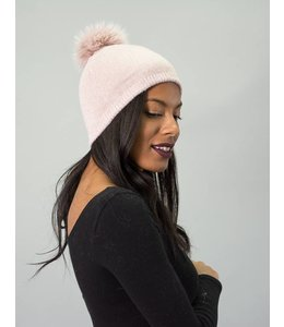 Mitchie's Matchings Fox Pom Knit Hat