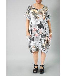 T by Transparente Lisle Linen Dress