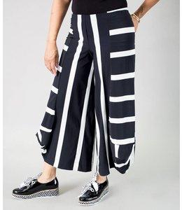 Alembika Striped Punto Pant