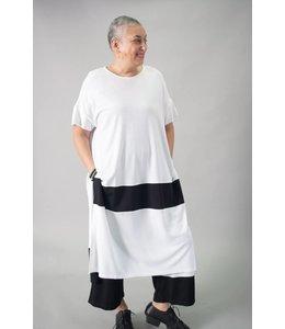 Alembika Color Block Tunic Dress