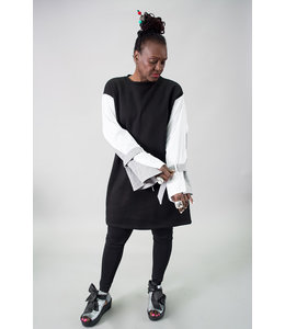 Tov Bell Sleeve Shirt Dress