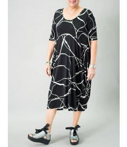 Matti Mamane Abstract Print Dress
