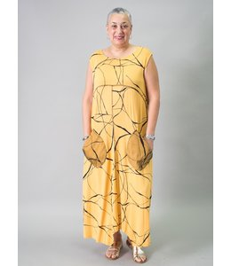 Matti Mamane Dijon Abstract Dress