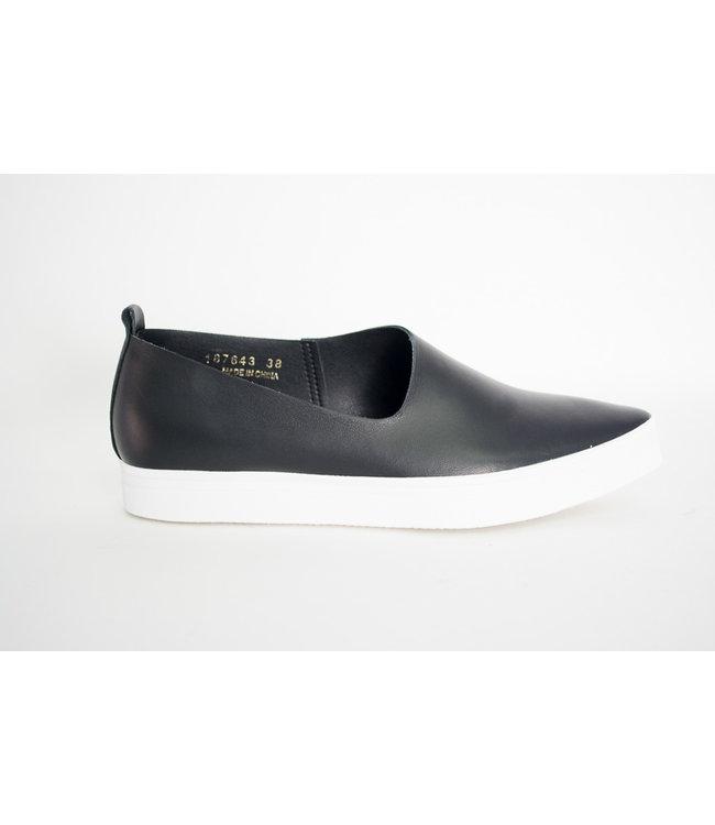 All Black Side Scoop Sneaker