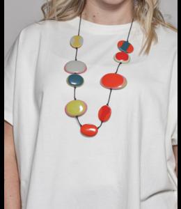 Multicolor Jade Necklace