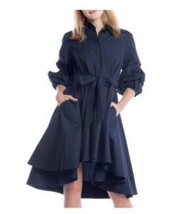 Gracia Belted Shirt Dress