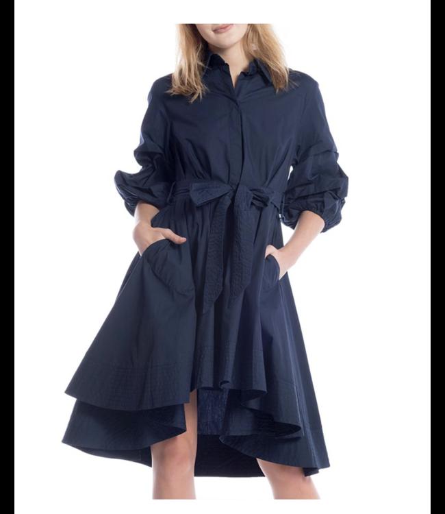 Gracia Belted Shirt Dress