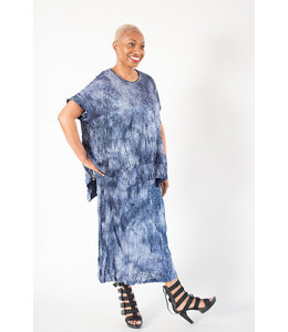 Alembika Marbled Knit Top
