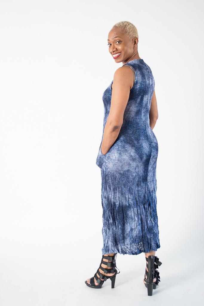 11a7ce75421b14 Alembika Marbled Knit Tank Dress, SD427S   shopeechicago.com ...